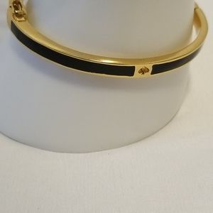kate spade Black and Gold Thin Bracelet